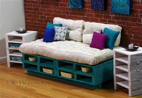 diy sofa bed ideas diy pallet couch ideas pallets designs