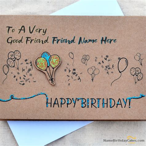 write happy birthday in design write name on birthday card for best friends happy