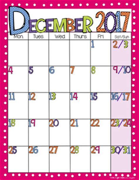 Calendar 2018 Fillable Editable Free Bright Polka Dot Monthly Calendars 2017 2018