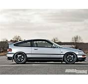 1988 Honda CRX Si  Tuning Magazine