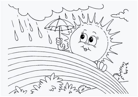 1 Sınıf Eğitim I 231 In Coloring Pages Of Rainbows 2