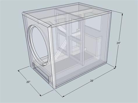 image result  subwoofer box design