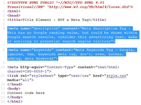 what keyword defines a critical section of code seo meta tags