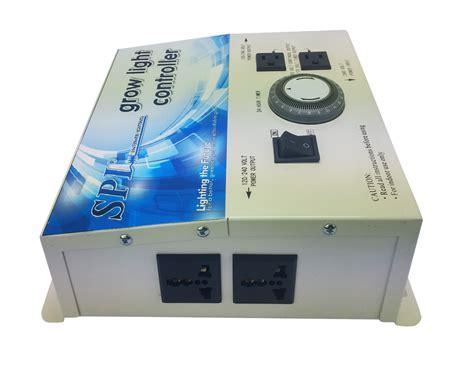 spl grow light controller 4 with timer ballast grow
