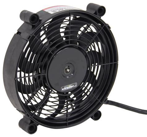 highest cfm tower fan derale 12 quot high output electric single radiator fan
