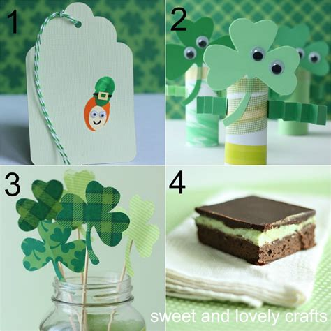 st patricks day crafts sweet and lovely crafts st s day crafts