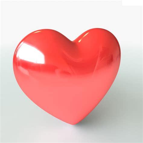 3d hearts valentines 3d model