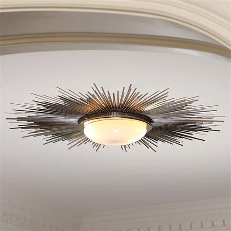 global views products sunburst light fixture nickel