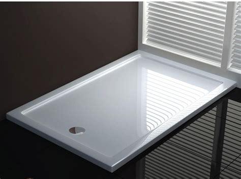 scarico doccia piatto doccia acrilico design sottile e moderno go