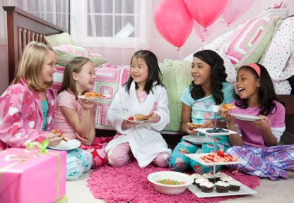 themes for a girl slumber party american girl doll personalized birthday party favors