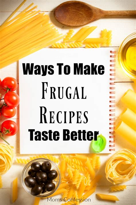 7 Easy Ways To Cook Healthier Meals by 7 Ways To Make Frugal Recipes Taste Better