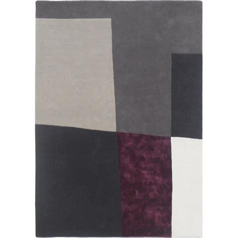 Tapis Prune tapis gris et prune id 233 es de d 233 coration int 233 rieure