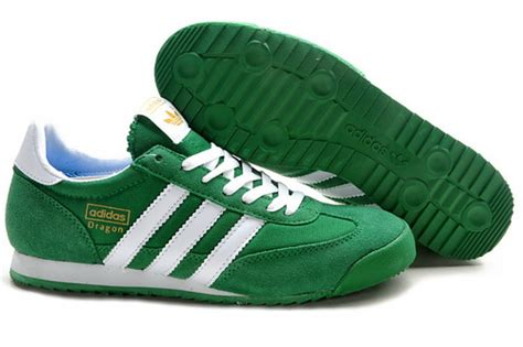 adidas originals running shoes green white new style wholesale shoes