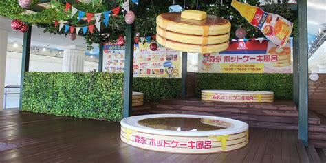 a run maple syrup s sweet journey books this japanese spa allows guests to bathe in a pool of