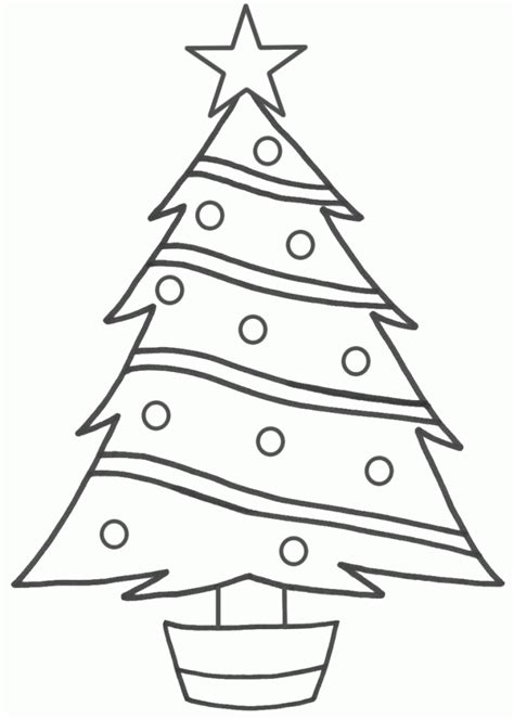 christmas tree drawing easy for kids step by step ideas
