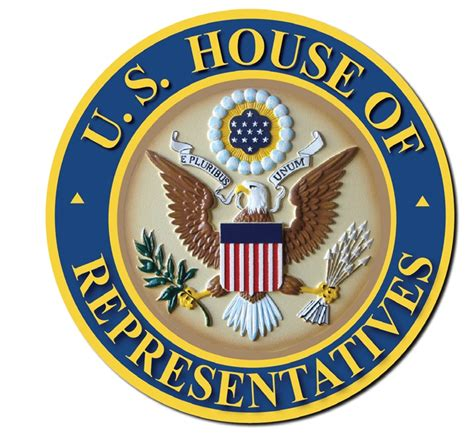 house of representatives seal federal government round seals carved wood wall plaques