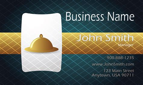 Catering Business Cards Templates Free by Restaurant Business Card Templates Free Shipping