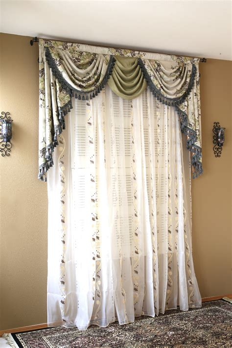 drapery valances appalachian spring swag valance curtains
