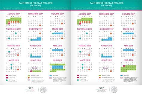 calendarios de 185 d 237 as 195 d 237 as y 200 d 237 as ciclo