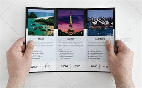 travel brochure tri fold cyberuse