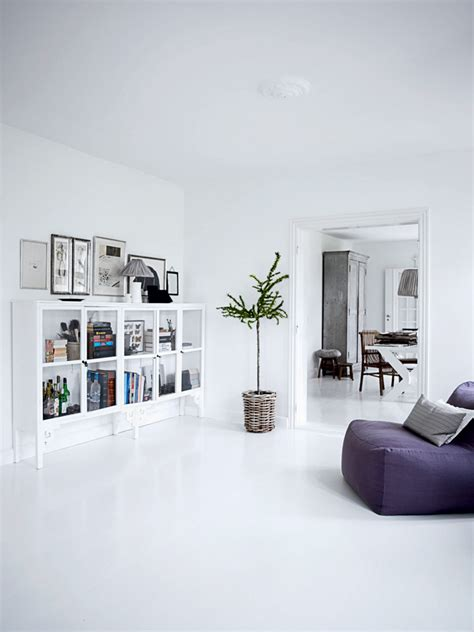 Www Home Interior All White Interior Design Of The Homewares Designer Home