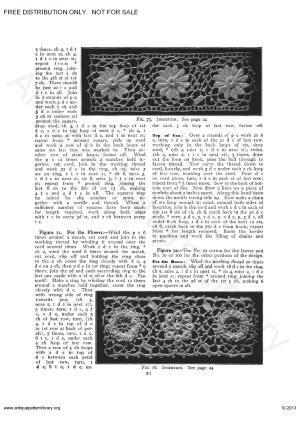 antique pattern library priscilla apl 6 ja034 priscilla irish crochet book overview page