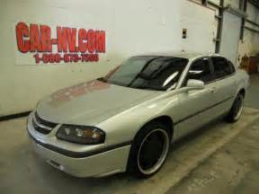 chevy impala 2004 silver black rims photo picture image