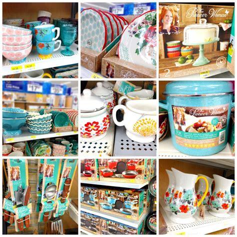 walmartpioneer ladys kitchenware new pioneer woman products only at walmart frugal upstate