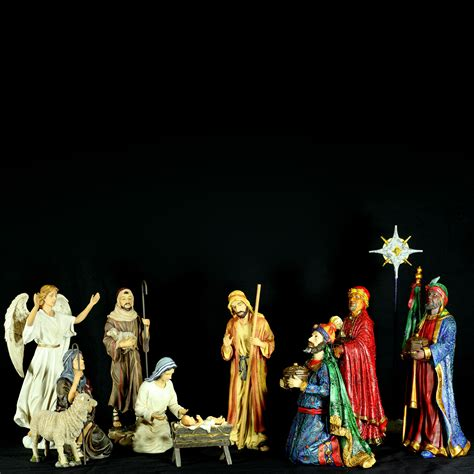 collectibles nativity sets gifts 12 5 quot h deluxe three