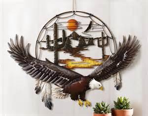 southwest wall decor southwest soaring eagle dreamcatcher desert cactus