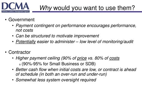 Why Might The Government Establish This Price Ceiling by Ppt Using Performance Based Payments Linking Contract
