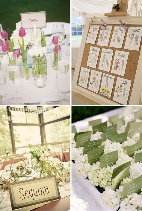 tema fiori matrimonio tableau e segnaposto matrimonio tema fiori sposifaidate