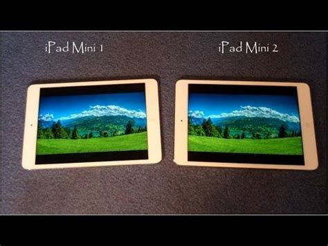 Mini Vs Mini 2 mini 1 vs mini 2 comparison