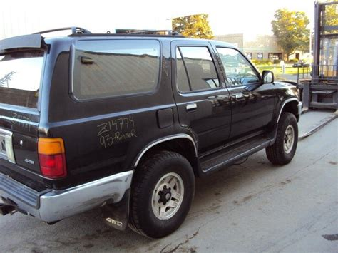 Toyota Recycling Rancho Cordova Used 1993 Toyota 4runner Rear Bumper Assembly Rear