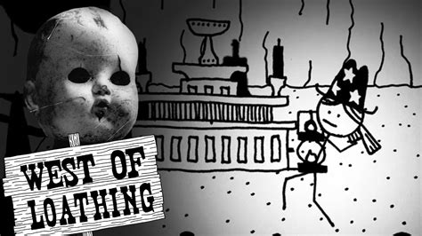 haunted doll west of loathing creepy dolls yay lucky me west of loathing part 6