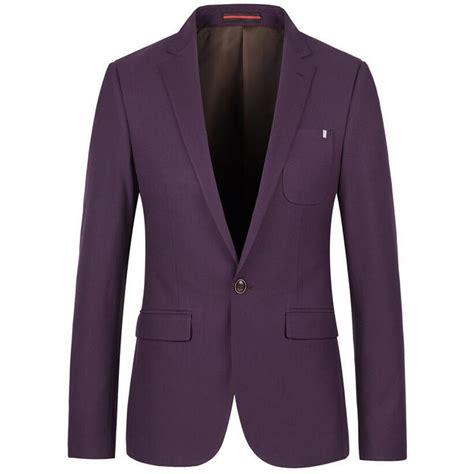 Dpurple Coat Blazer Ungu Korea Jaket buy wholesale mens purple blazer from china mens purple blazer wholesalers aliexpress