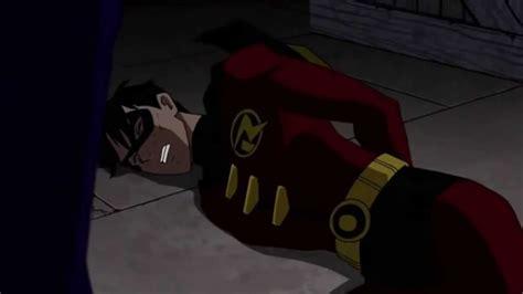 imagenes de robin justicia joven la muerte de robin el joven maravilla demario videos youtube
