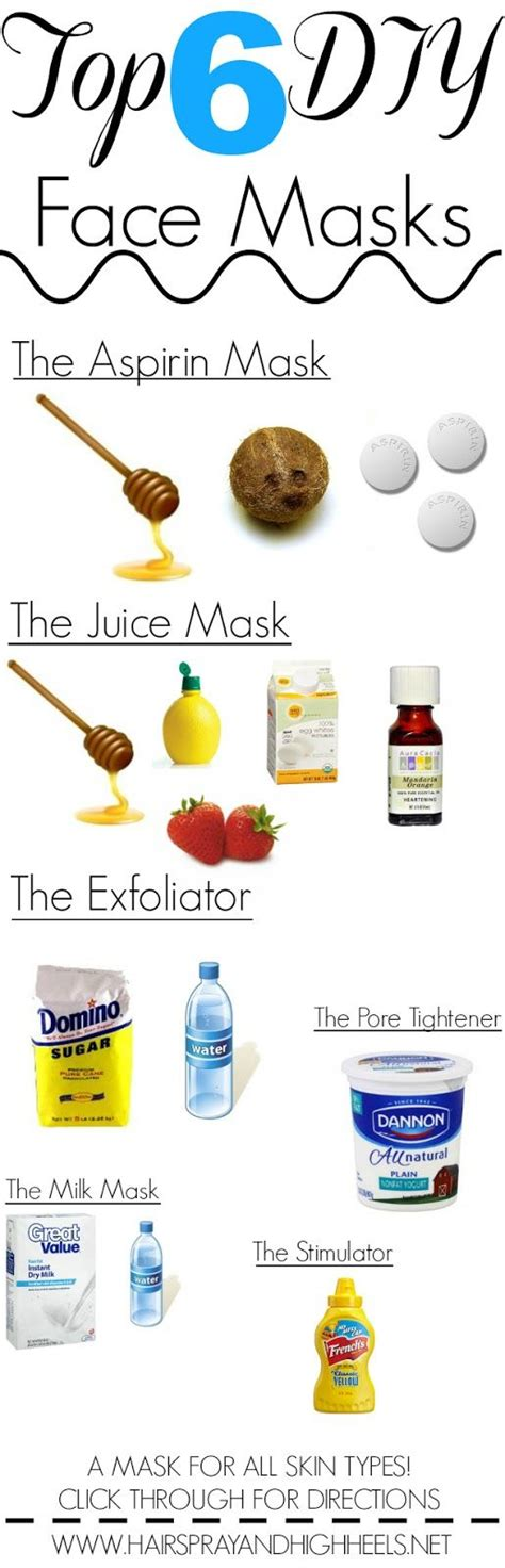 the best diy mask 6 diy masks all skin types