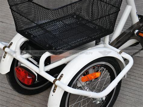 Tiga Roda 1 Pcs 250 w rangka baja roda tiga listrik dewasa 3 roda sepeda