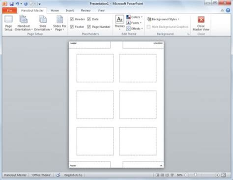 presentation handout template word how to create powerpoint slides handouts