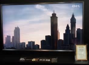 Tv Sharp Tv Sharp sharp unveils world s spec 8k lcd tv kitguru