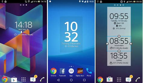 best clock widgets for android top 7 best clock widget for android 2017