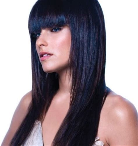 Black Hairstyles With Dye | blue black hair dye best medium hairstyle