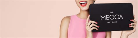Masterclass Gift Card - mecca gift cards the ultimate gift for every beauty buff