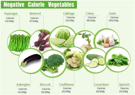 vegetables with 0 calories negative calorie vegetables for weight loss