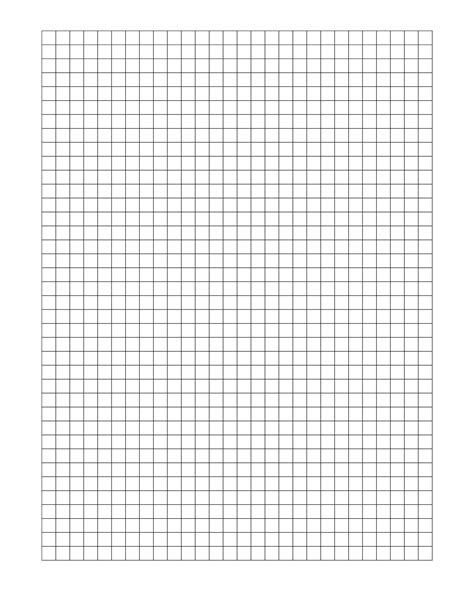 free printable graph paper template