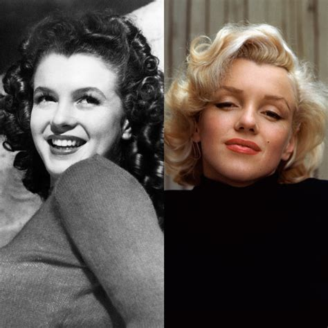 marilyn hair color the best hair color transformations of all time from