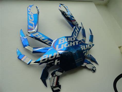 what is bud light made of bud light crab made from bud light cans bud