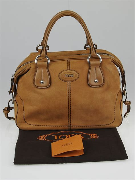 Tods New D Bag Media by Tod S Light Brown Nubuck Leather New Restyling D Bag