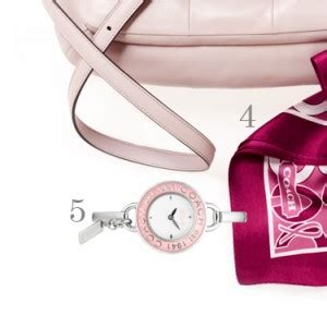 Coach For Breast Cancer Awareness Month by The Best Of Pink Products Breast Cancer Awareness Month